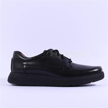 Clarks Un Abode Ease - Black Leather