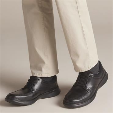 Clarks Cotrell Edge - Blk Smooth Lea