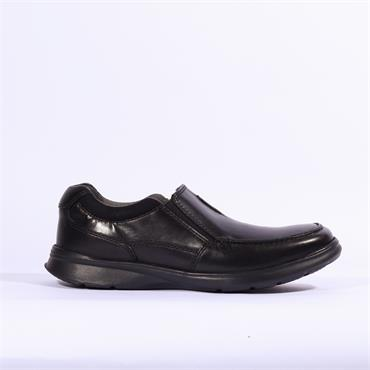 Clarks Cotrell Free - Blk Smooth Lea
