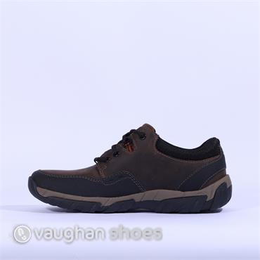 Clarks WalbeckEdge II - Brown Leather