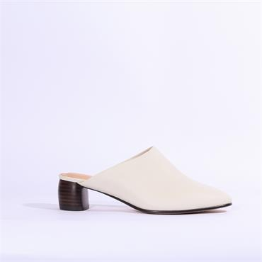 Clarks Grace Blush - White Leather