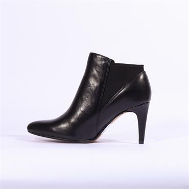 Clarks Laina Violet - Black Leather