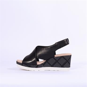 Clarks Cammy Pearl - Black Leather