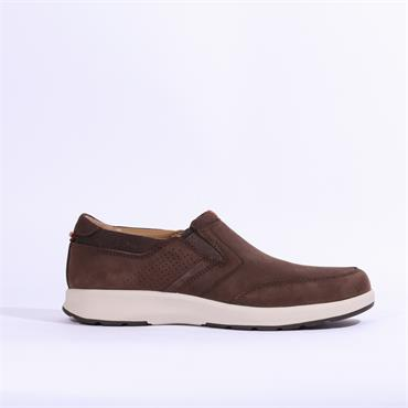 Clarks Un Trail Step - Brown Nubuck