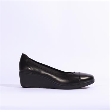 Clarks Un Tallara Liz - Black Leather