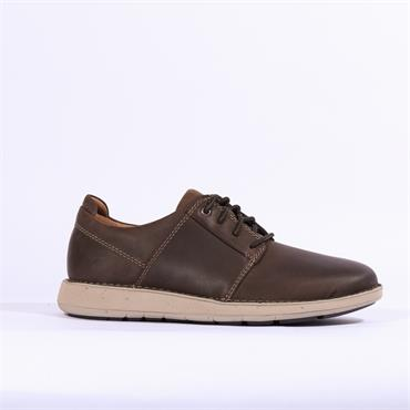 Clarks Un Larvik Lace - Brown Leather