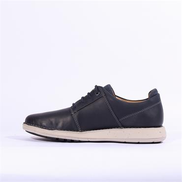 Clarks Un Larvik Lace - Navy Leather