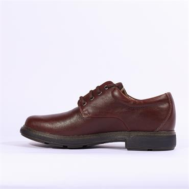 Clarks Un Tread LoGTX - Dark Brown Lea