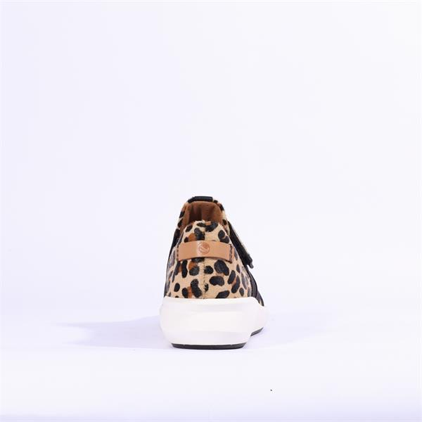 Clarks Un Rio Strap Leopard Prt Pony Vaughan Shoes