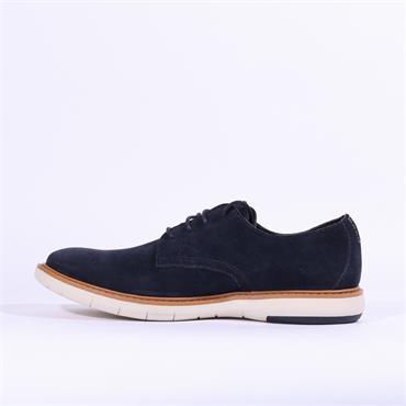 Clarks Draper Lace - Navy Suede