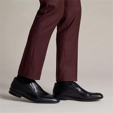 Clarks Bensley Step - Black Leather