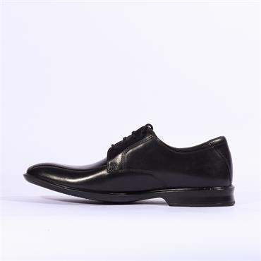 Clarks Bensley Run - Black Leather