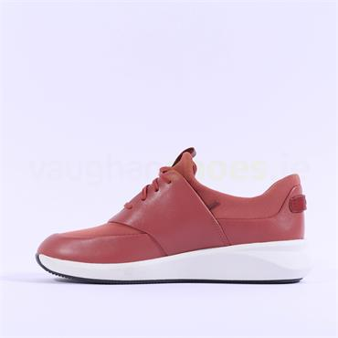 Clarks Un Rio Lace - Brick Red