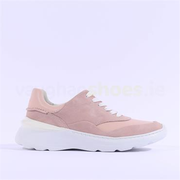Clarks Sprintlite Lace - Light Pink Leather