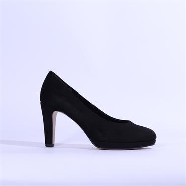 Gabor Platfrom High Heel Splendid - Black Suede
