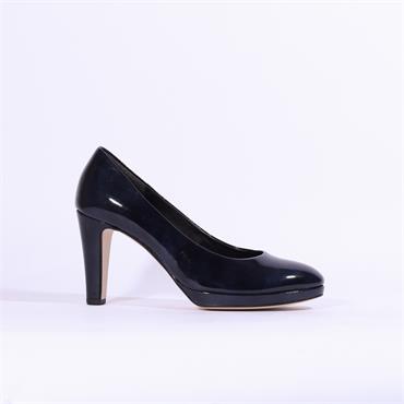 Gabor Platform Court Shoe Splendid - Navy
