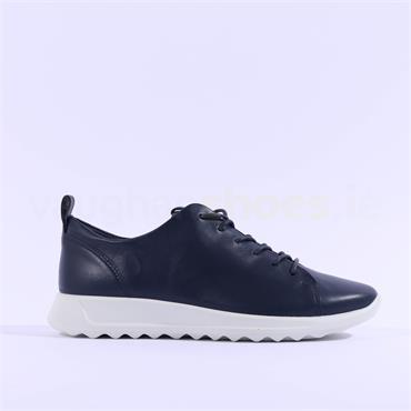 Ecco Women Flexure - Navy Leather