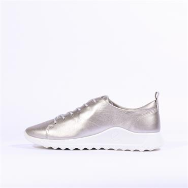 Ecco Women Flexure - Silver Metallic