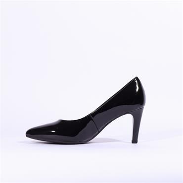 Gabor High Heel Court Shoe Mimi - Black