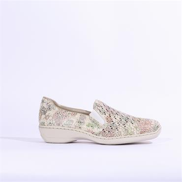 Rieker Halifax Perforated Multi Slip-On - Multi