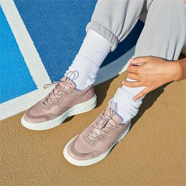 Ecco Women Soft X Trainer - Blush Leather