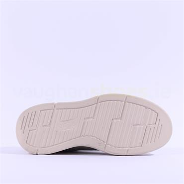 Ecco Women Soft X Trainer - Light Khaki Leather
