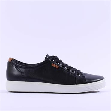 Ecco Women Soft VII - Black Leather
