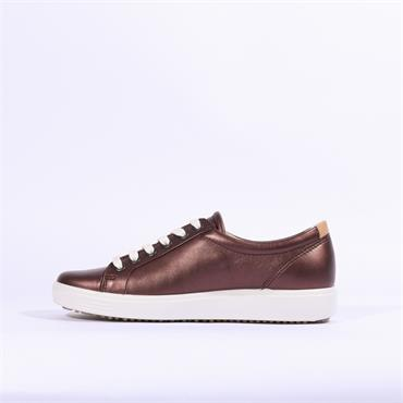 Ecco Women Soft VII - Wine Metallic
