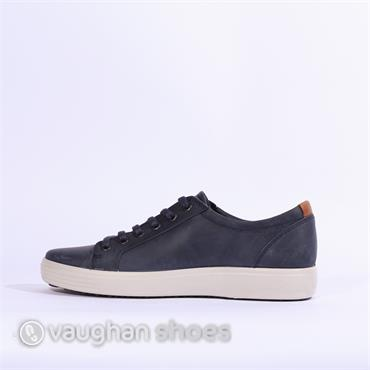 ECCO SOFT VII LACED - Navy
