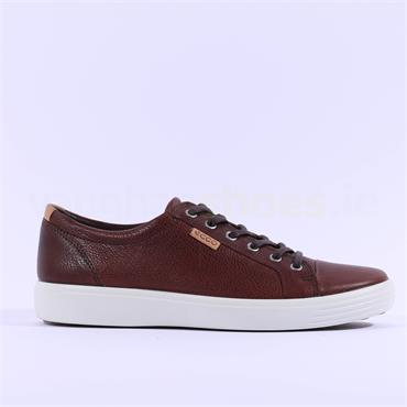 Ecco Men Soft VII Laced - Brown