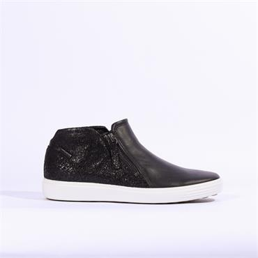 Ecco 7 Low Cut Zip - Black Combi