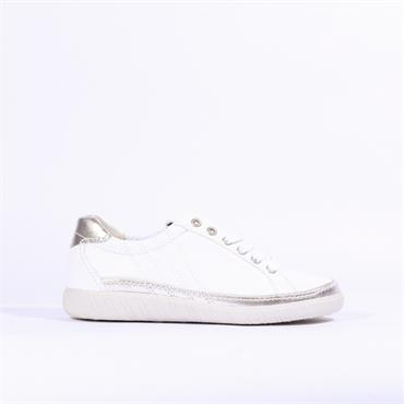 Gabor Casual Trainer Amulet - White