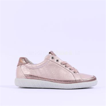 Gabor Casual Trainer Amulet - ROSE METALLIC