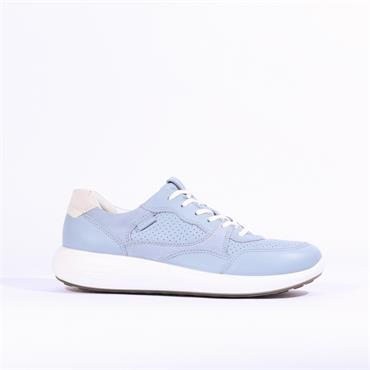 Ecco Women Soft 7 Runner - Light Blue