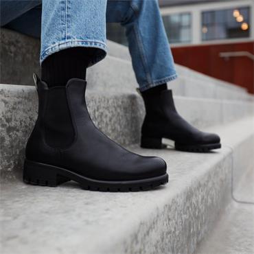 Ecco Women Modtray Chelsea Boot - Black Leather