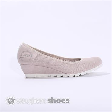 S.Oliver Wedge Cleated White Sole - Rose