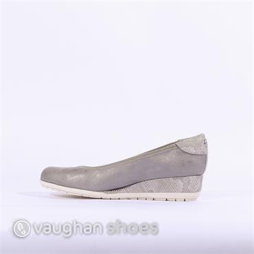 S.Oliver Low Wedge - Grey
