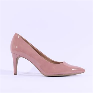 S.Oliver Pointed Toe Court Shoe - Rose