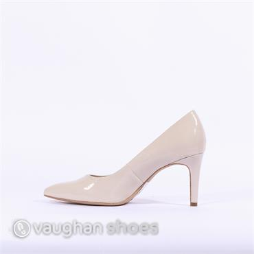 S.Oliver Pointed Toe Court Shoe - Nude