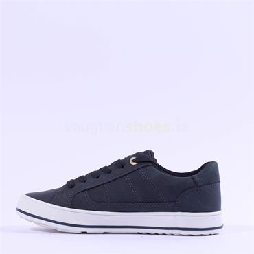 S.Oliver Laced Casual Trainer Regan - Navy
