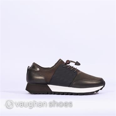 S. Oliver Trainer Elastic Lace - Brown