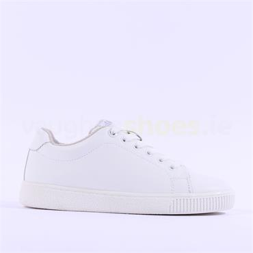 S.Oliver Annas Essential Lace Trainer - White