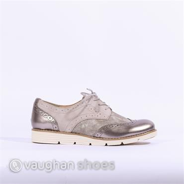S.Oliver Laced Brogue - Rose Combi