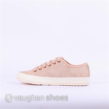 S.Oliver Casual Laced Shoe - Rose