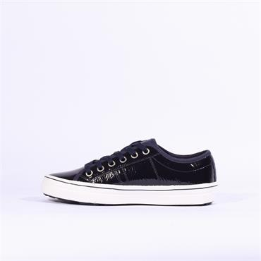 S.Oliver Casual Laced Shoe - Navy