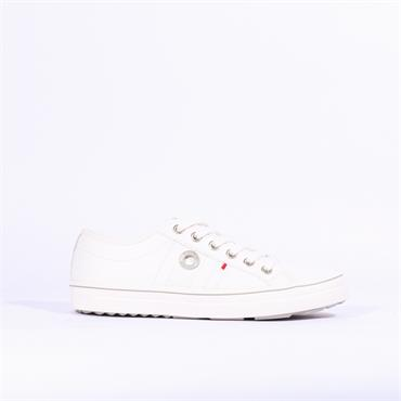 S.Oliver Casual Laced Shoe - White