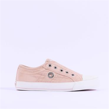 S.OLIVER Motana Slip On Canvas Toe Cap - Light Pink