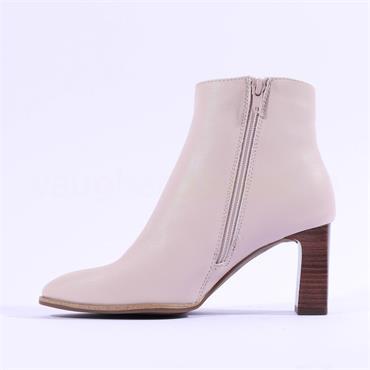 S.Oliver Jonita Block Heel Ankle Boot - Blush