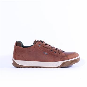 Ecco Men Byway Tred GoreTex Shoe - Tan Leather