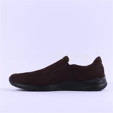 Ecco Men Irving Slip On - Dark Brown